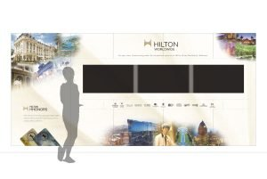 Lagoon Tower Sales Center & Guest Wall Mockup