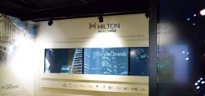 Hilton Grand Vacation Gallery TV Panels