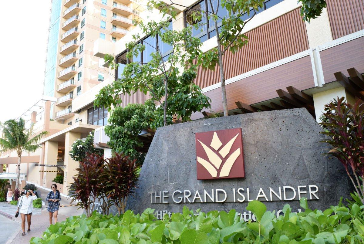 The Grand Islander Signage