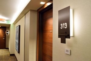 The Grand Islander Room Unit Signage