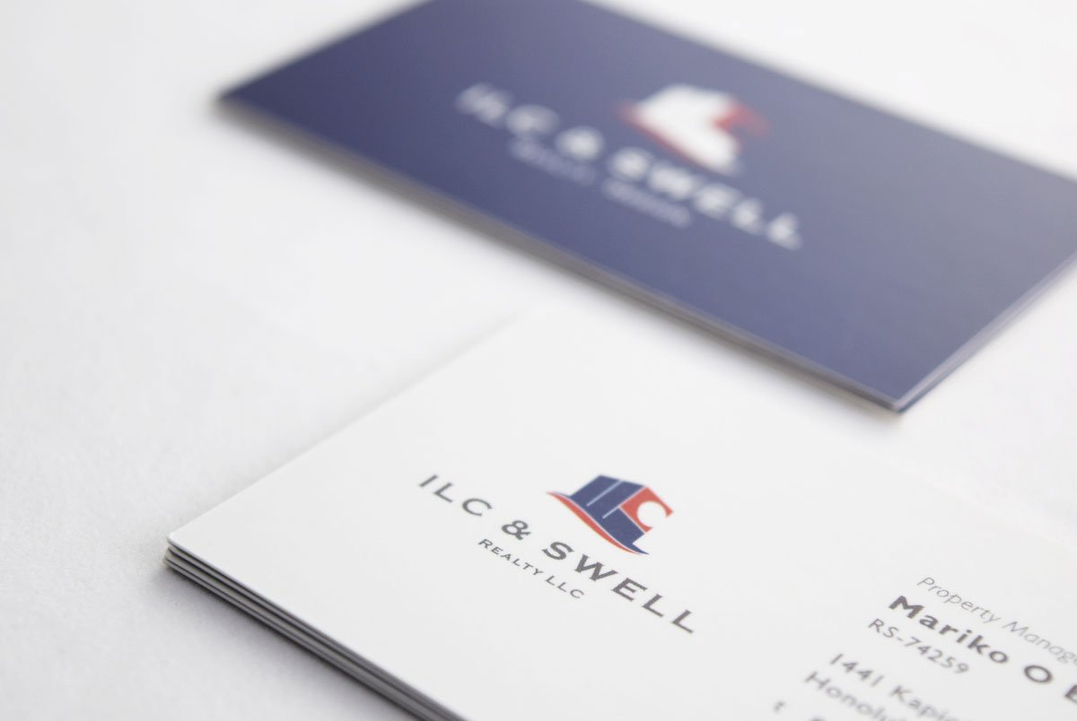 ILC & Swell Business Cards