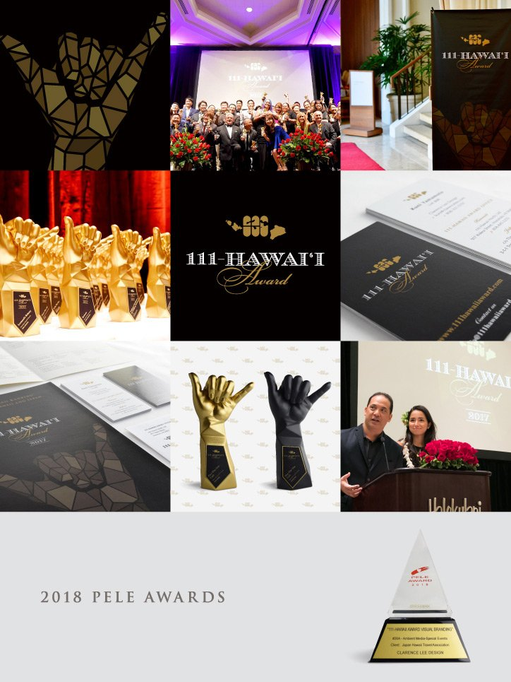 111-Hawaii Award Visual Branding