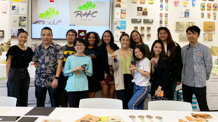 UH Manoa Students Office Visit